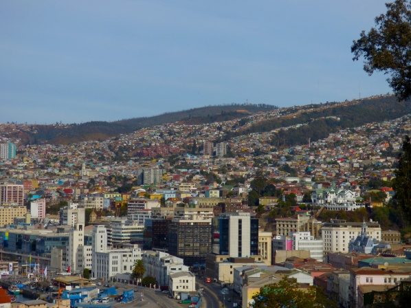 """Santiago is my city, but Valparaiso, my heart..."""