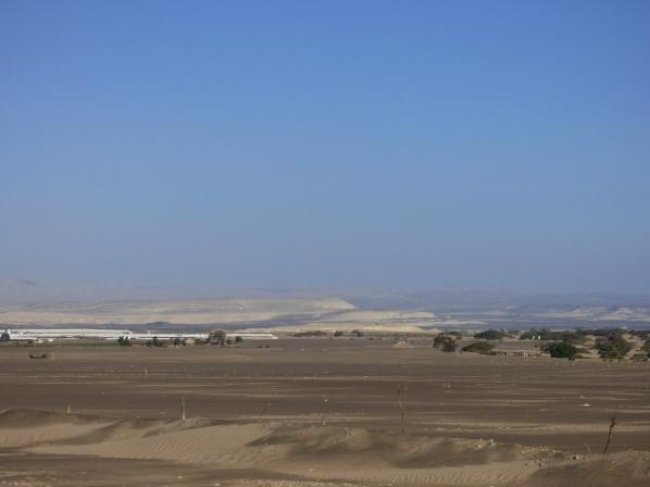 The Peruvian desert, south of Lima