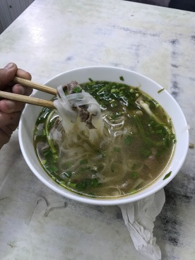 Pho, mostly for breakfast around Vietnam